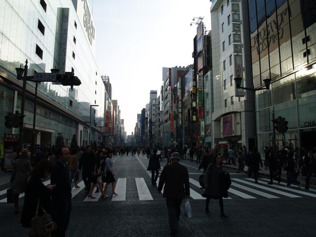 銀座〜有楽町〜都立大〜そして [photo]