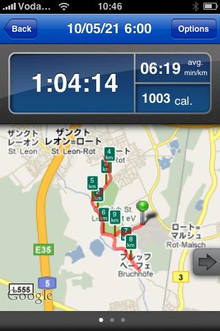 写真つきランニング日誌(10/05/21)ドイツ最終日・ファイナルラン![Runnin' Higher] [Photo]