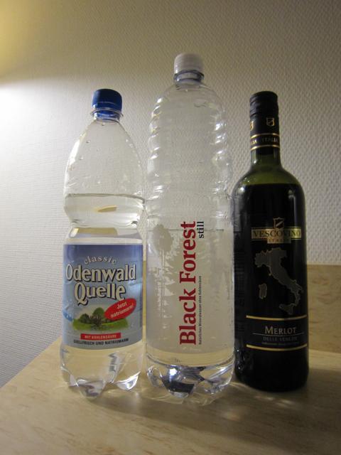 ヨーロッパでは水よりワインが安い? [Travel] [Days] [Liquor]