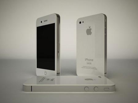 これが新型iPhoneのホワイトタイプ?カラーバリエーションも!? [iPhone]