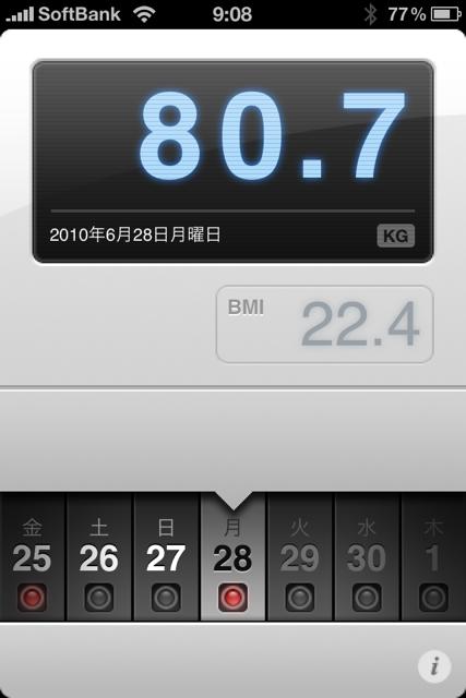 ランニング日誌(10/06/28)蒸し蒸し汗を出し切れラン! #run_jp [Runnin' Higher]