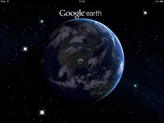 iPad版のGoogle Earthが楽しすぎてずっといじってしまう件 [iPad]