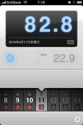 ランニング日誌(10/06/11)脚休めショートラン! #run_jp [Runnin' Higher]