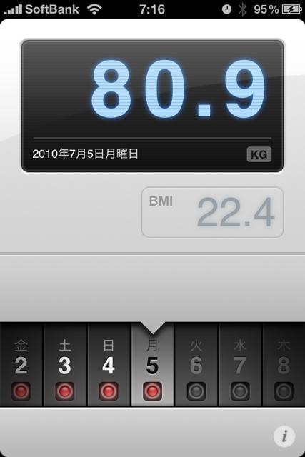 ランニング日誌(10/07/05)この1年も頑張ろう!バースデーラン! #run_jp [Runnin' Higher]