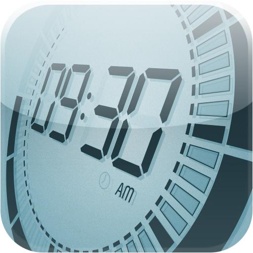 """新しくてちょっと懐かしいデジタル時計アプリ! """"Touch LCD""""はユニバーサルで高機能、そして美しい! [iPad] [iPhone]"""