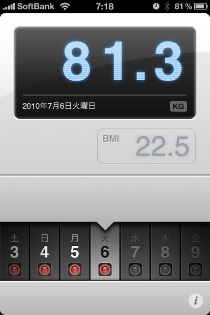ランニング日誌(10/07/06)凄い湿気だむわむわラン! #run_jp [Runnin' Higher]