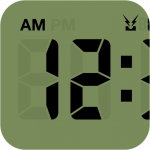 """iPhone 4のRatinaディスプレイに似合い過ぎる時計アプリ! """"LCD Clock""""が美し過ぎる! [iPhone]"""