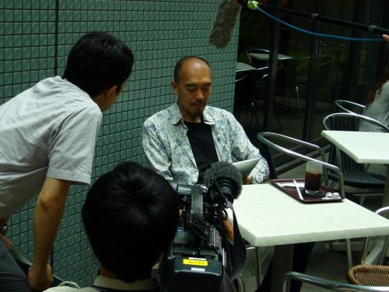 NHKテレビ「首都圏ネットワーク」の取材を受けました [iPad] [Event]