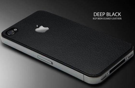 レザー製iPhone 4保護シートがカッコいい! @ttachi's Clip 2010年7月9日版 [Links and News]