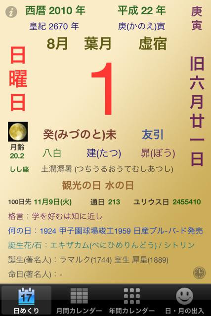ランニング日誌(10/08/01)葉月初日はお疲れショートラン! #run_jp [Runnin' Higher]