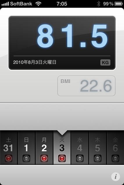 ランニング日誌(10/08/03)疲れ取れてきたぞショートラン! #run_jp [Runnin' Higher]