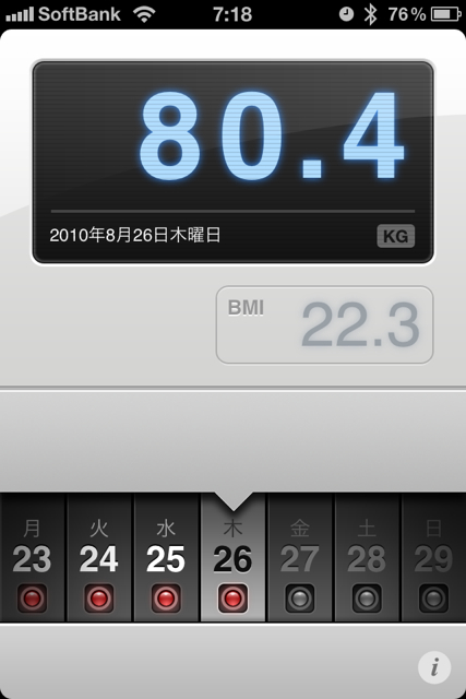 ランニング日誌(10/08/26)イベント終了抜け殻ショートラン! #run_jp [Runnin' Higher]
