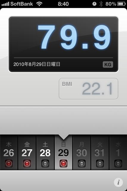 ランニング日誌(10/08/29)復活目指して5kmラン! #run_jp [Runnin' Higher]