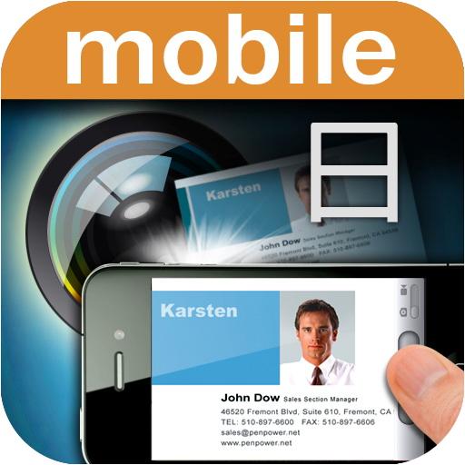 """名刺管理をiPhoneで!  """"WorldCard Mobile"""" で名刺スキャンして連絡先へ直行! [iPhone]"""