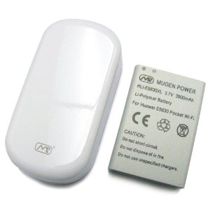 """急展開! """"バスタブ"""" ことMEGEN POWER Pocket WiFi用大容量バッテリーHLI-E5830XLを購入! [iPhone] [Gadget] [Net]"""