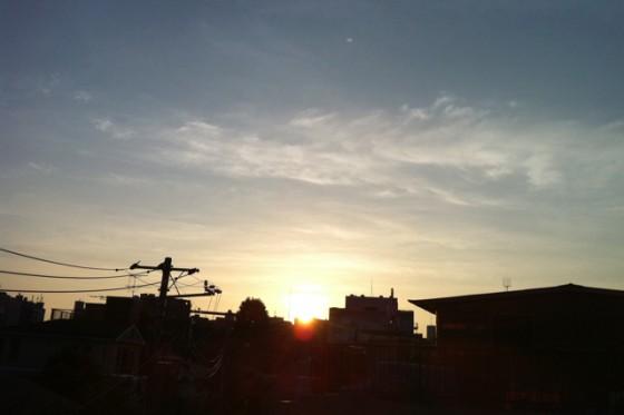 ランニング日誌(10/09/06)太腿違和感3.8キロラン! #run_jp [Runnin' Higher]
