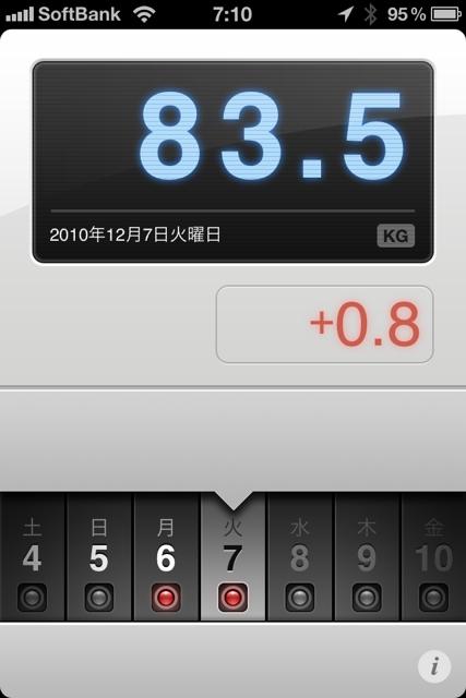 ランニング日誌(10/12/07)筋肉痛同盟リハビリショートラン! #run_jp [Runnin' Higher]