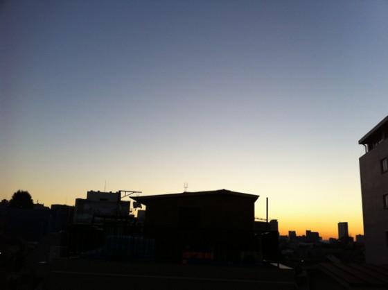 ランニング日誌(10/12/27)風邪が治ってきたショートラン! #run_jp [Runnin' Higher]