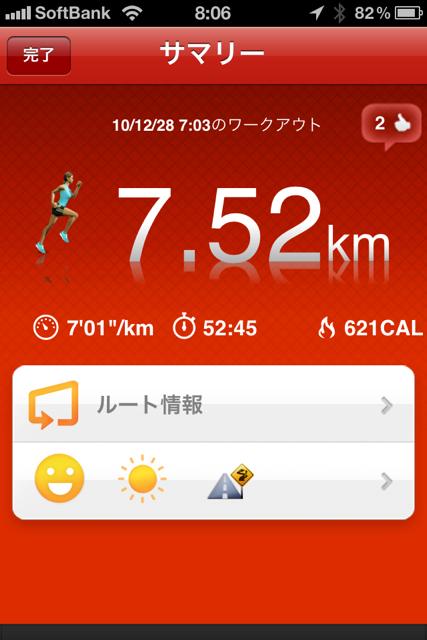 ランニング日誌(10/12/28)爽快!名古屋ラン! #run_jp [Runnin' Higher]
