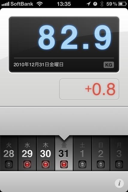 ランニング日誌(10/12/31)2010年走り納め11kmラン!今年は365日走りました! #run_jp [Runnin' Higher]