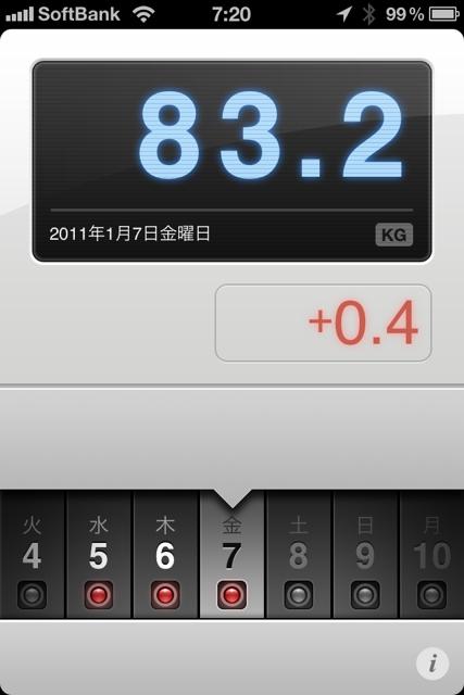 ランニング日誌(11/01/07)寝不足お疲れショートラン! #run_jp [Runnin' Higher]