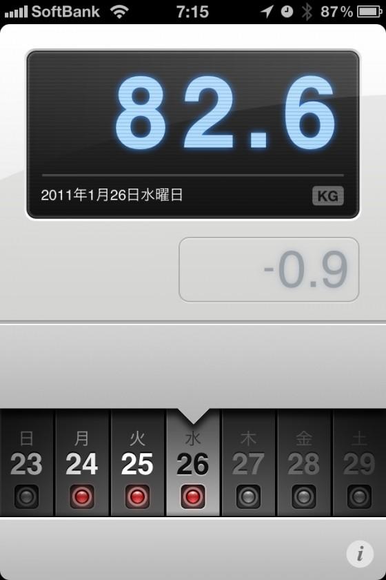 ランニング日誌(11/01/26)久々スピード練習頑張るラン! #run_jp [Runnin' Higher]