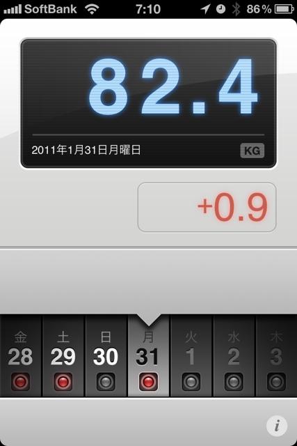 ランニング日誌(11/01/31)1月最終氷点下ラン! #run_jp [Runnin' Higher]