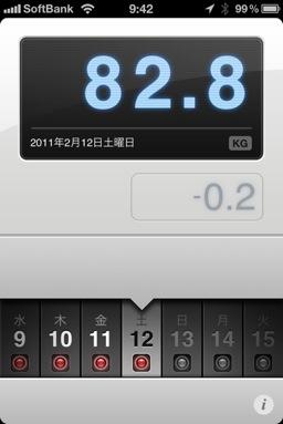 ランニング日誌(11/02/12)ダメージ残ったつなぎの8.6kmラン!