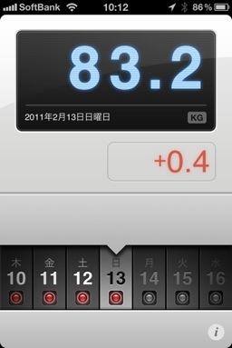 ランニング日誌(11/02/13)路面凍結危険だラン!
