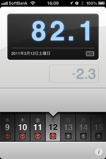 ランニング日誌(11/03/12)平常心11kmラン!