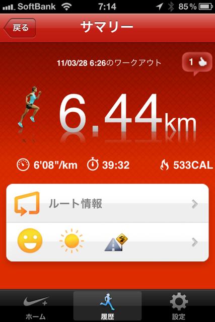 写真つきランニング日誌(11/03/28)春の京都早朝ラン!