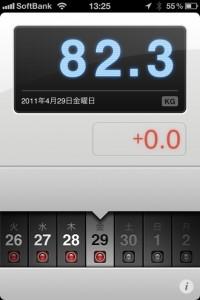ランニング日誌(11/04/29)ちょっと疲れ目11km皇居ラン!