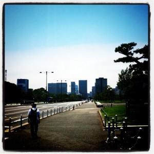 ランニング日誌(11/06/22)夏至だ快晴だ真夏の13km皇居ラン!