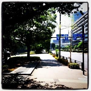 ランニング日誌(11/06/28)夏到来!灼熱皇居11kmラン!