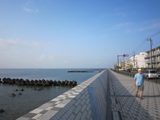 鎌倉の海辺を走ってきました!