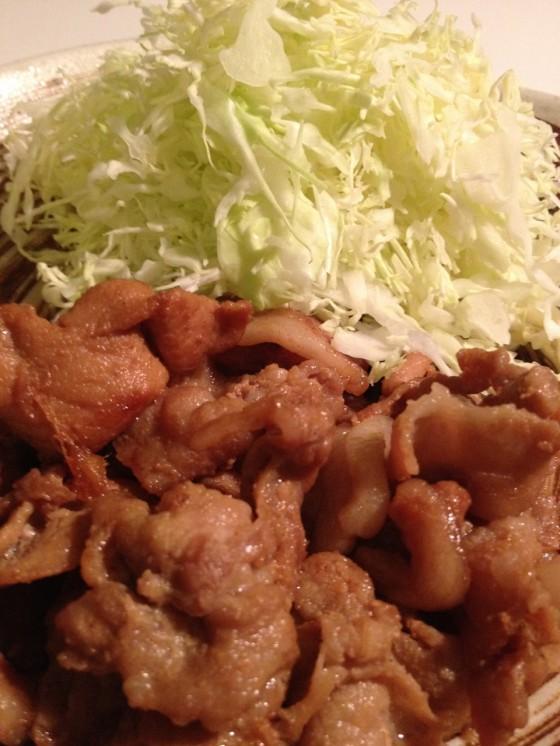 「男の料理レシピ」コーナー復活! 10分で簡単美味い!豚のしょうが焼き!