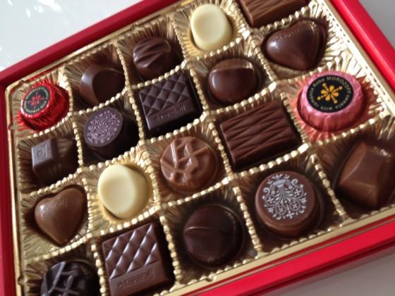 奥さんにチョコをあげた 「デイリーたちばな」 2012年2月13日版