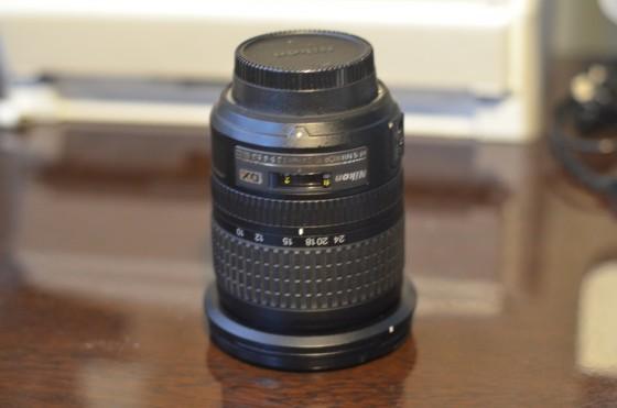 """Nikonの超広角ズームレンズ """"Nikon AF-S DX NIKKOR 10-24mm/F3.5-4.5G ED"""" が無事再退院"""