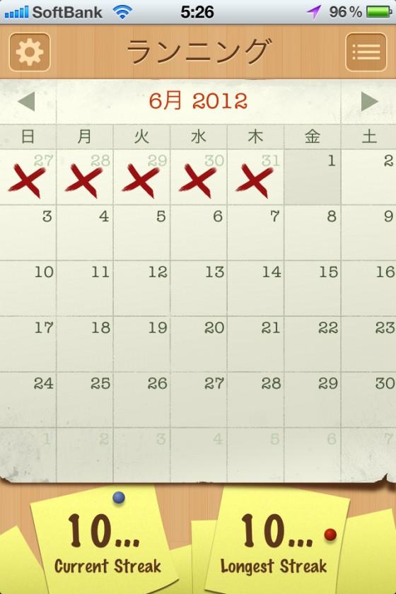 いろいろ不安定で参る  [カラダログ 2012/05/31]