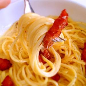 カルボナーラを簡単に美味しく作るレシピ! 4つのコツ !!