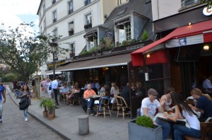 雑記  僕らがパリのカフェで奥の席に通される理由 [2012年夏 ヨーロッパ旅行記 その22]