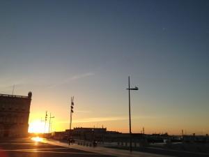 リスボン夜明けラン!!  これがヨーロッパ西の果ての夜明けだ![2012年夏 ヨーロッパ旅行記 その38]