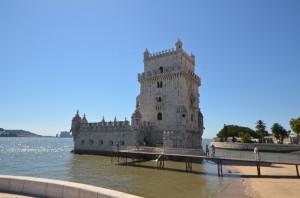 ベレンの塔 〜 リスボン西部の観光名所 大西洋への遥かなる道   [2012年夏 ヨーロッパ旅行記 その46]