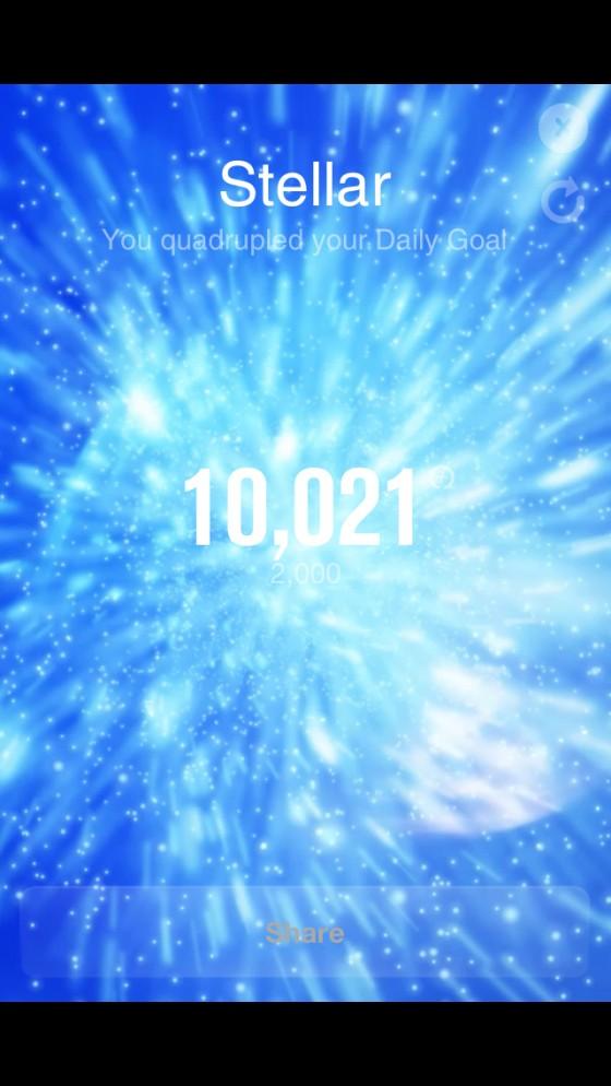 初の10,000Fuel越え! フルマラソン完走で記録ラッシュの日  [カラダログ 2012/10/07]