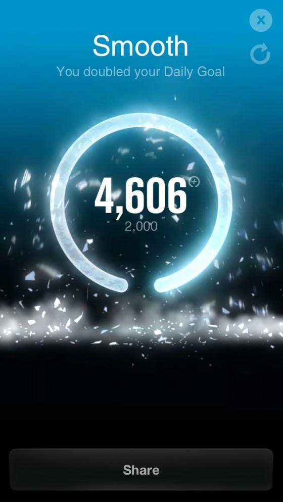 8.5km走まで復活/やはりアプリの距離がおかしい [カラダログ 2012/11/19]