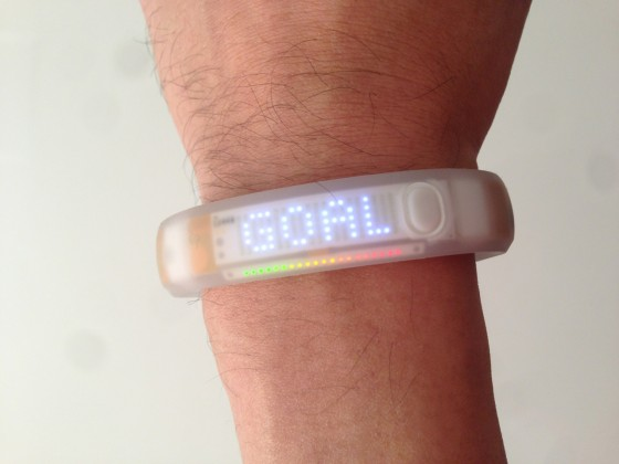 Nike+ Fuelband White Ice — 2代目Fuelbandは美しきスケルトン!のだが…。