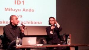 """トークライブ """"ID1"""" 安藤美冬 vs 立花岳志  大熱気で開催しました!皆さま感謝です!!"""