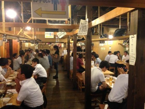 六本木 松ちゃん — 裏路地どん詰まりの「魔窟」居酒屋でブロガー飲み!盛り上がったぞ!!