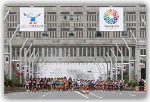 歓喜!東京マラソン2014の抽選に当選しました!!サブ4目指して頑張るぞ!!