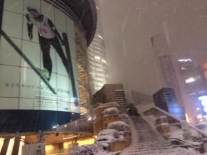 50年に一度!大雪の麻布界隈をiPhone片手に写真と動画で記録してみたよ